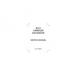 New Holland Eh15 Excavator Service Manual