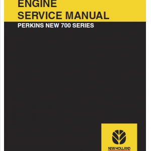 Perkins 700 Series Engine Service Manual