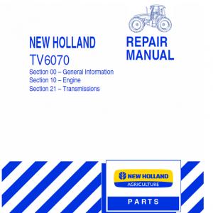 New Holland TV6070 Tractor Repair Manual