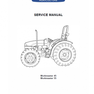 New Holland Workmaster 45 Tractor Service Manual