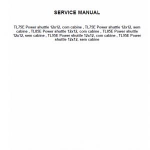 New Holland TL60E, T75E, TL85E, TL95E Tractor Factory Manual