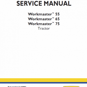New Holland Workmaster 55, 65, 75 Tractor Service Manual