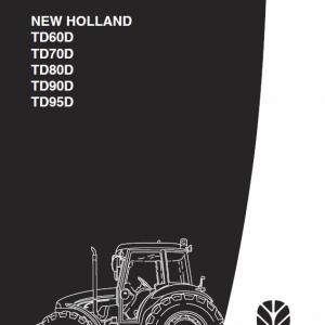 New Holland TD60D, TD70D, TD80D, TD90D, TD95D Tractor Repair Manual