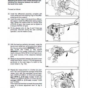 New Holland Tl70a, Tl80a, Tl90a, Tl100a Tractor Service Manual