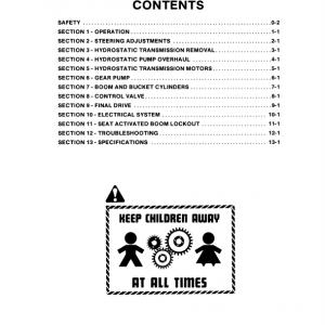 New Holland L451, L452, L454, L455 Skidsteer Loader Service Manual