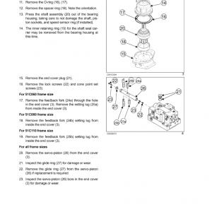 New Holland Cv1500, Cv2000, Cv2500 Compactor Service Manual