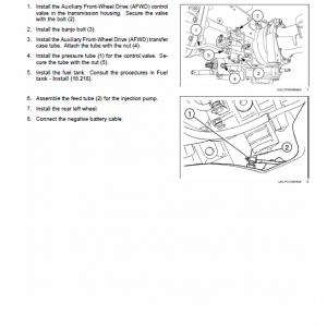 New Holland Tl60e, Tl75e, Tl85e, Tl95e Tractor Service Manual