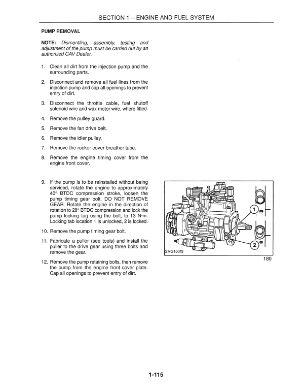 New Holland Lb115 Backhoe Loader Service Manual