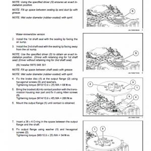 New Holland Rg140.b Vhp, Rg170.b Vhp, Rg200.b Vhp Motor Graders Manual