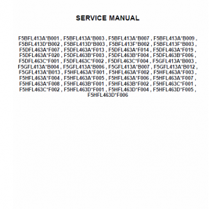 Cnh F5 Tier 4b (final) And Stage Iv Service Manual