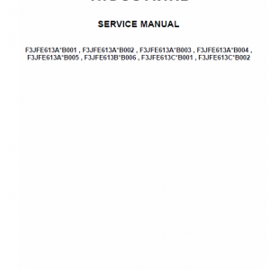 Cursor 16 Sst Tier 4b (final) And Stage Iv Engine Service Manual
