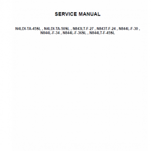 Ism Tier 4 Engine Service Repair Manual