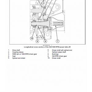 New Holland Tk4030v, Tk4050, Tk4050m, Tk4060 Tractor Service Manual