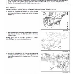 New Holland Powerstar 90, 100, 110, 120 Tractor Service Manual
