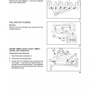 New Holland Tt45a, Tt50a Tractor Service Manual