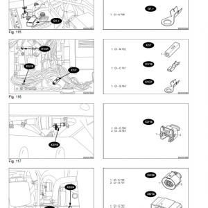 New Holland Tvt 135, Tvt 145, Tvt 155 Tractor Service Manual