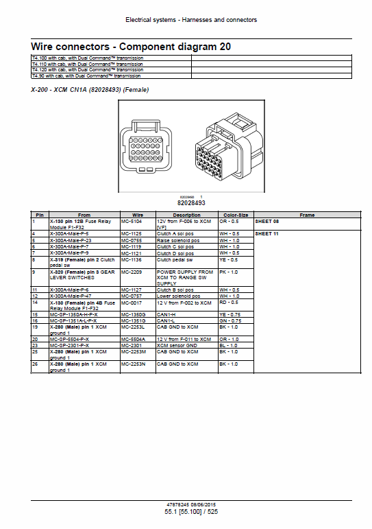 New Holland T4.90, T4.100, T4.110, T4.120 Tractor Service Manual