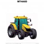 Challenger MT485D, MT495D Tractor Service Manual
