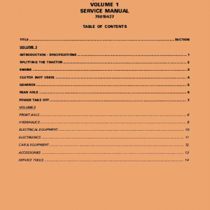 Challenger MT635, MT645, MT655, MT665 Tractor Workshop Manual