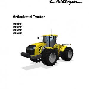 Challenger MT945E, MT955E, MT965E, MT975E Tractor Service Manual