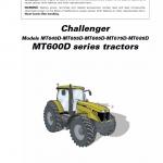 Challenger MT645D, MT655D, MT665D, MT675D, MT685D Tractor Workshop Manual