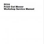 Massey Ferguson FC33 Front Mower Service Manual