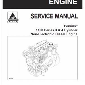 Perkins 1100 Series Diesel Engine Manual