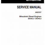 Mitsubishi Diesel Engines DO3CJ and DO4CJ Manual
