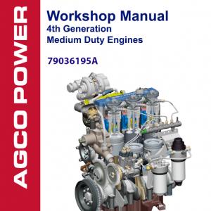 AGCO 4th Generation Medium Duty Engines Manual