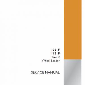 Case 1021F, 1121F Wheel Loader Service Manual