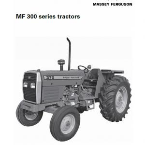 Massey Ferguson 345, 350, 355, 360, 375, 385 Tractor Service Manual
