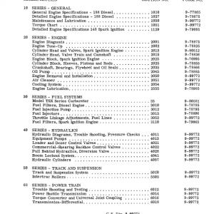 Case 310G, 350 Crawler Dozer Service Manual