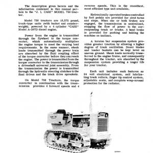 Case 750 Crawler Dozer Service Manual