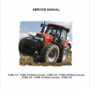 Case Puma 115, 125, 140, 155 Tractor Service Manual
