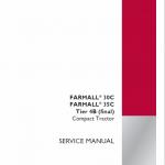 Case Farmall 30C, 35C, 40C Tractor Service Manual