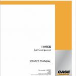 Case 1107EX Soil Compactor Service Manual