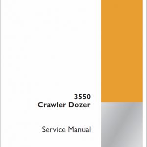 Case 3550 Crawler Dozer Service Manual